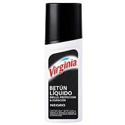 BETUN LIQUIDO NEGRO VIRGINIA 60 ML