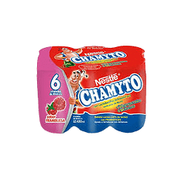 CHAMYTO FRAMBUESA NESTLE 6 UN