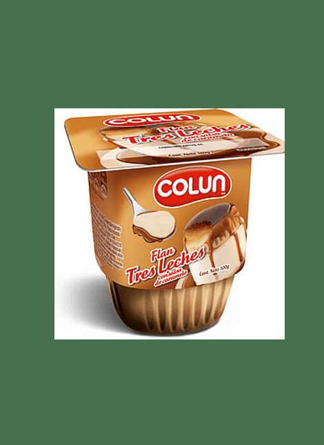 FLAN TRES LECHES COLUN 100 G