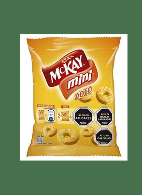 GALLETA MINI COCO MCKAY 40 G