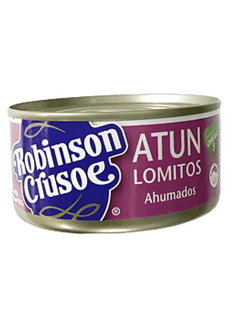 ATUN LOMITO AHUMADO R. CRUSOE 160 G