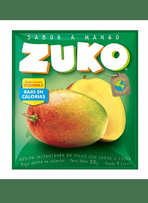 JUGO ZUKO MANGO 25 G