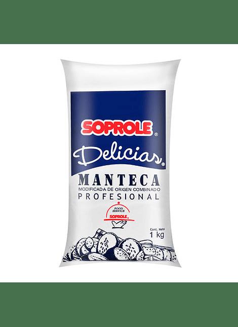 MANTECA DELICIAS SOPROLE 1 KG