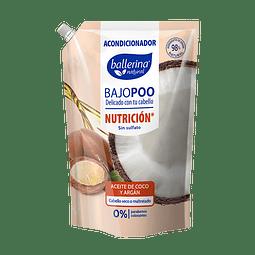ACONDICIONADOR BALLERINA BAJOPOO NUTRICION 900 ML