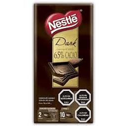 CHOCOLATE DARK 65% CACAO NESTLE 100G