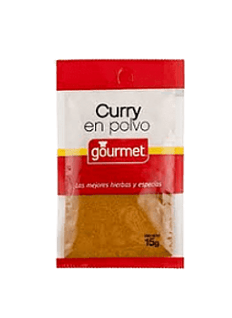 CURRY EN POLVO GOURMET 15 G