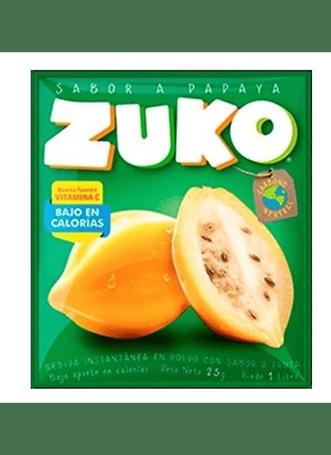 JUGO ZUKO PAPAYA 25 G
