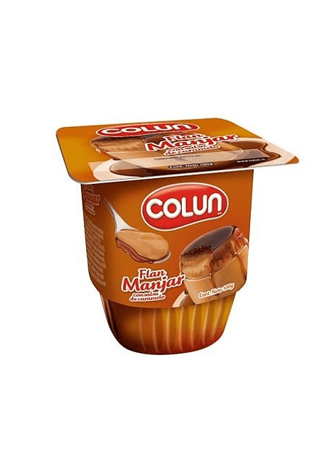 FLAN MANJAR COLUN 100 G