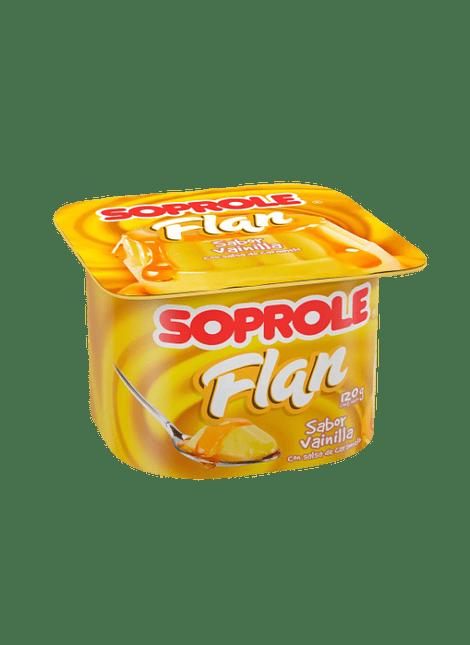 FLAN VAINILLA SOPROLE 120 G