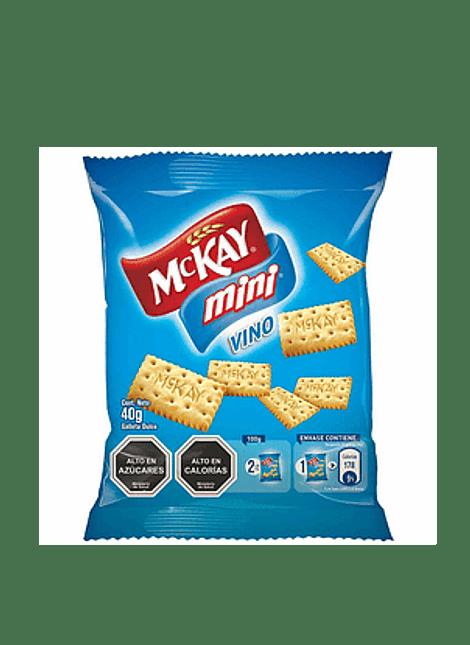 GALLETA MINI VINO MCKAY 40 G