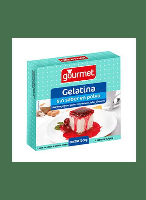GELATINA SIN SABOR GOURMET 30 G