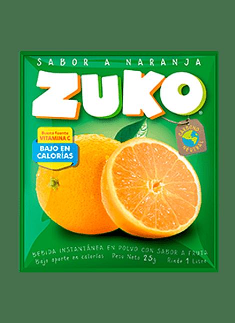 JUGO ZUKO NARANJA 25 G