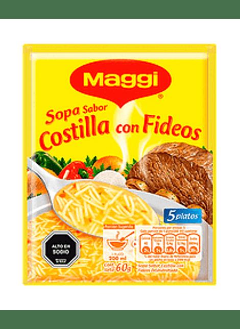 SOPA COSTILLAS CON FIDEOS MAGGI 60 G