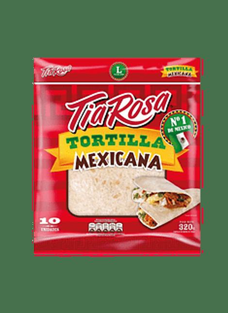 TORTILLA MEXICANA MEDIANA TIA ROSA 10 UN