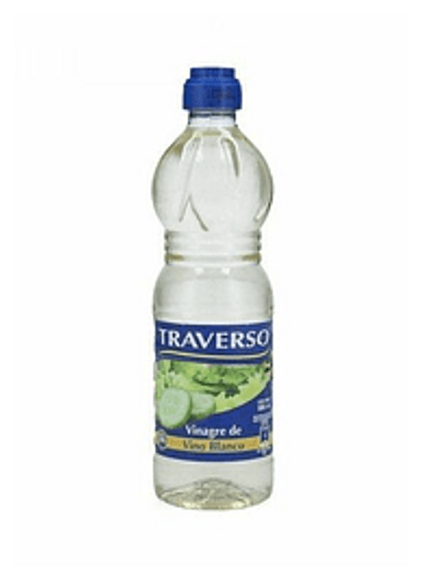 VINAGRE TRAVERSO BLANCO 500 ML