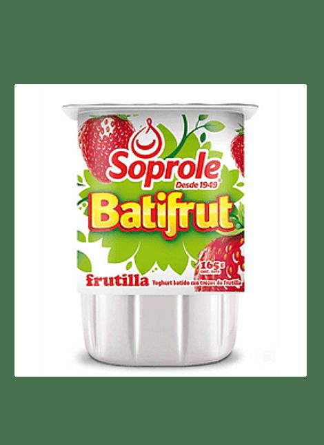 YOGHURT BATIFRUT FRUTILLA SOPROLE 165 G