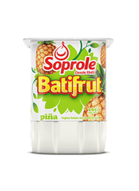 YOGHURT BATIFRUT PIÑA SOPROLE 165 G