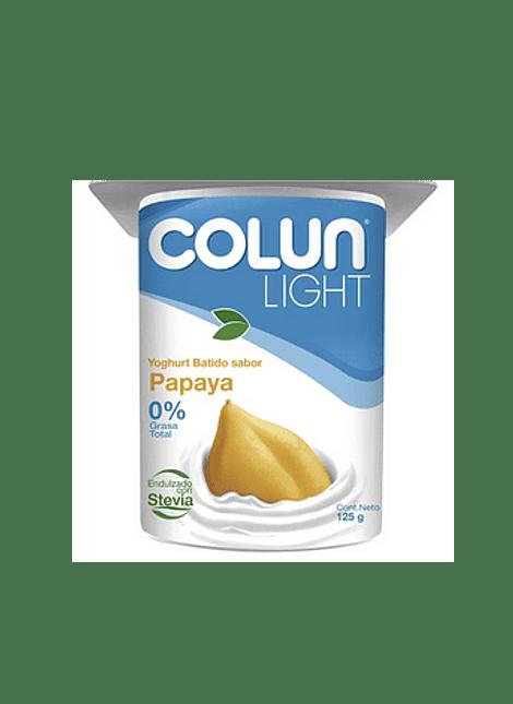 YOGHURT LIGHT PAPAYA COLUN 125 G