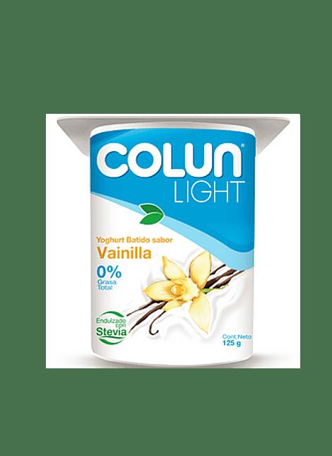 YOGHURT LIGHT VAINILLA COLUN 125 G