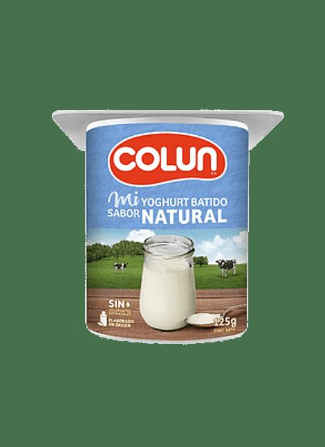 YOGHURT NATURAL COLUN 125 G