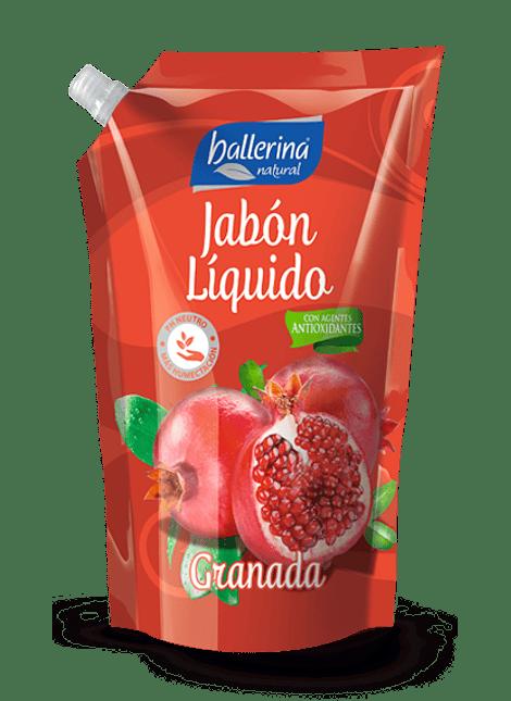 JABON LIQUIDO BALLERINA GRANADA 900 ML