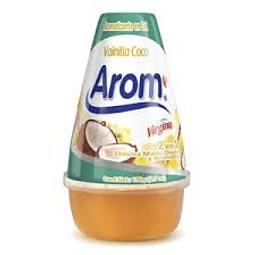 AROMATIZANTE EN CONO GEL VAINILLA COCO AROM 190 G