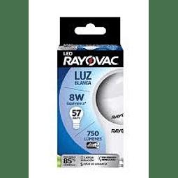 AMPOLLETA LED RAYOVAC LUZ BLANCA 57 W