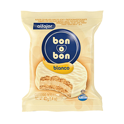 ALFAJOR BON O BON BLANCO ARCOR 40 G