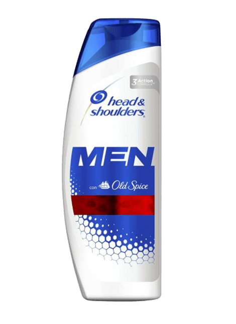 SHAMPOO HEAD&SHOULDERS MEN 375ML