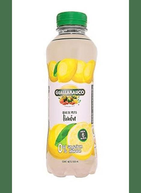 AGUA DE FRUTA SABOR LIMON 0% AZUCAR GUALLARAUCO 500 ML