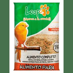 ALIMENTO CANARIOS LOOPS 1 KG