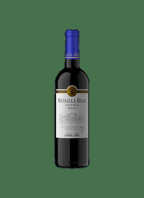 VINO MEDALLA REAL RESERVA MERLOT 2019 750 ML