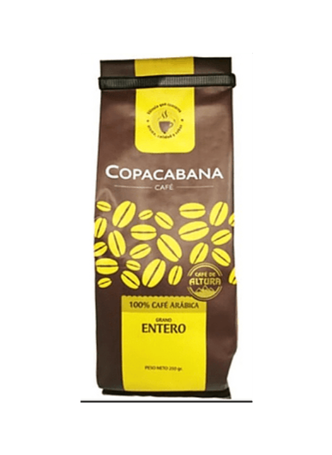 CAFE COPACABANA GRANO ENTERO 500 G