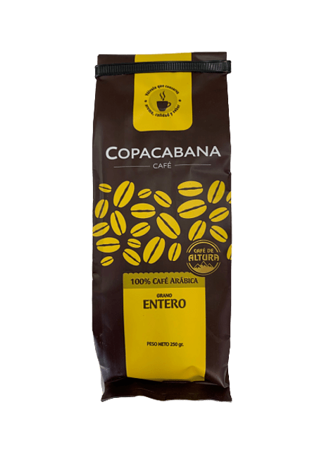 CAFE COPACABANA GRANO ENTERO 250 G
