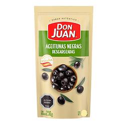 ACEITUNAS NEGRAS DESCAROZADAS DON JUAN 250 G