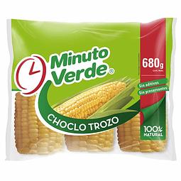 CHOCLO TROZO MINUTO VERDE 680 G