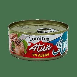 ATUN LOMITO EN ACEITE ANGELMO 190 G