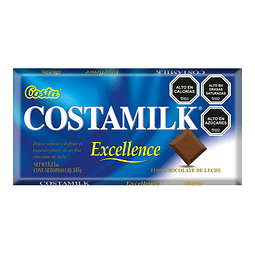 CHOCOLATE COSTAMILK EXCELLENCE COSTA 145 G