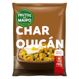 CHARQUICAN FRUTOS DEL MAIPO 750 G