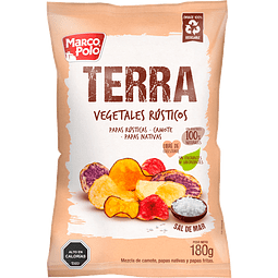 VEGETALES RUSTICOS TERRA MARCO POLO 180 G
