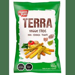 VEGGIE STICKS TERRA MARCO POLO 160 G