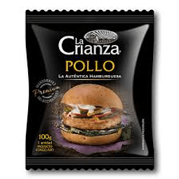 HAMBURGUESA POLLO LA CRIANZA 100 G