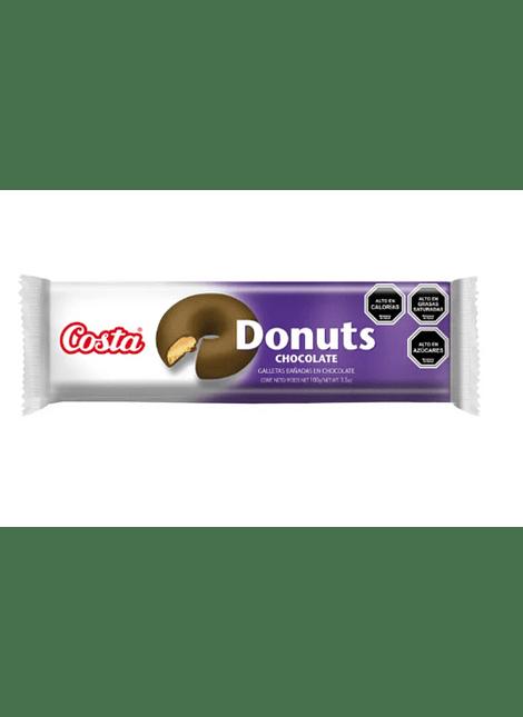 GALLETA DONUTS CHOCOLATE COSTA 100 G