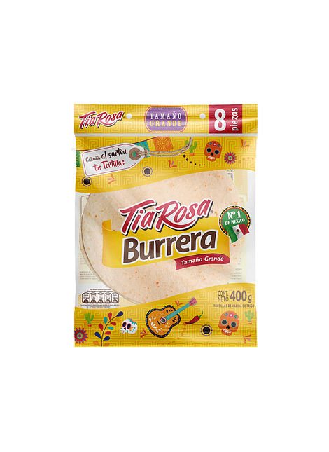 BURRERA TIA ROSA 400 G