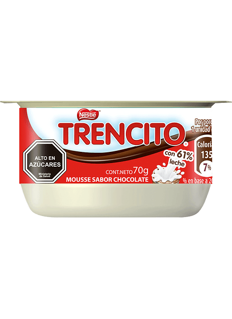 MOUSSE CHOCOLATE TRENCITO NESTLE 70 G