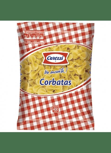 FIDEOS CORBATAS CAROZZI 400 G