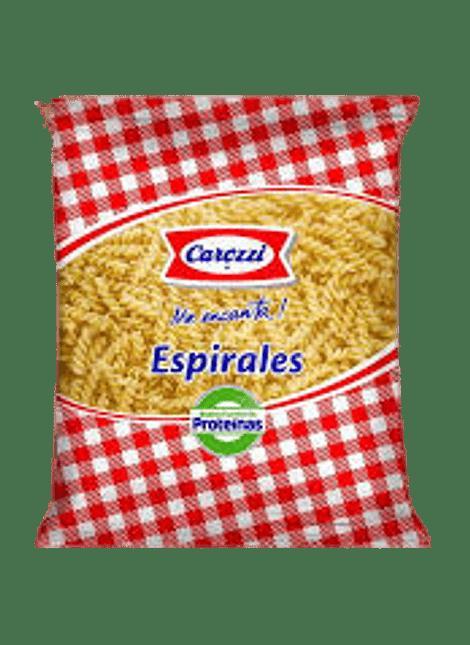 FIDEOS ESPIRALES CAROZZI 400 G
