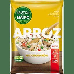 ARROZ MIX PIMENTON CHAMPIÑON FRUTOS DEL MAIPO 500 G