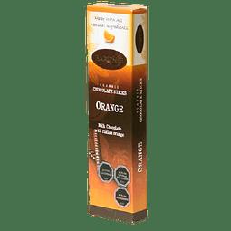 BARRITAS DE CHOCOLATE CON LECHE BARONIE NARANJA 75 G