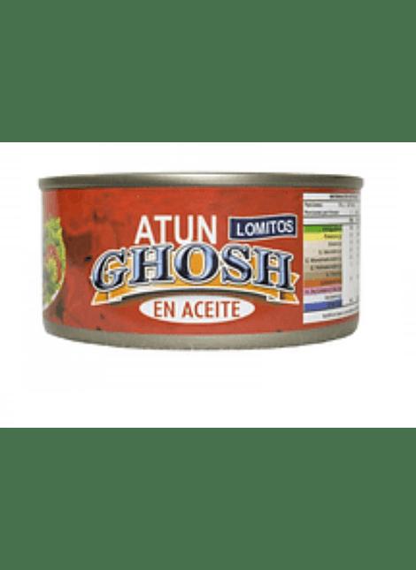 ATUN LOMITO EN ACEITE GHOSH 170 G